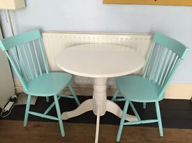 Montego Round Dining Table And 4 Cream Midback Chairs Argos Catelog Ref 603