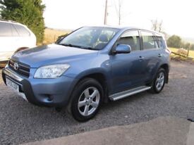toyota rav4 2.2 d4d 2006 1 yrs mot good all round condition