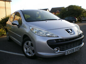 Peugeot 207 1.4 VTi Sport 5dr * Full Service History * PART EXCHANGE CLEARENCE * SPARE & REPAIR *
