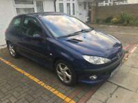 Peugeot 206 D Turbo Hdi, 1997CC Diesel, 3DR, Manual. MOT Passed and Serviced 14/05/2018