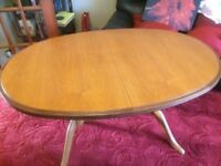 Dining Table - Oval, extending (Sorry - No chairs!)