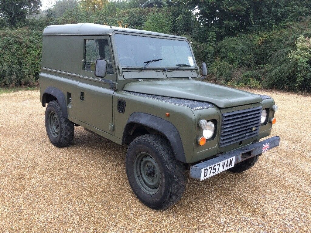 Land Rover Defender 90 2 5 Na Diesel Ex Mod Military