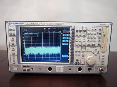Rohde Schwarz Fseb 20 9khz To 7ghz Spectrum Analyzer - Calibrated
