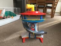 Paw Patrol Lookout Tower plus extras