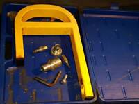 maypole caravan wheel lock with carry case and 3 keys
