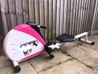 Wet sport rowing machine with display and adjustable tension VGC Hardly used Can deliver