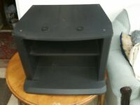 FREE TO COLLECTOR Black Sturdy TV Stand