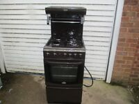 Gas Cooker,50cm wide Cannon Worcester gas cooker with eye level grill, Immaculate,,