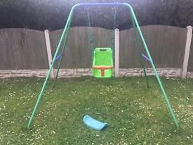 2in1 baby toddler swing