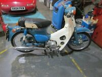 HONDA C70 REALLY GOOD CONDITION NEEDS SEAT COVER ONLY