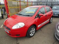 fiat grande punto 1.2 active 5dr 2007 model 70,000 miles from new