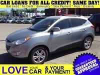 2010 Hyundai Tucson GLS * CAR LOANS w/$0 DOWN OPTION