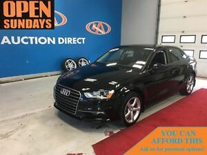 2016 Audi A3 NAVIGATION! SUNROOF! LEATHER!