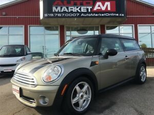 2009 MINI Cooper Clubman Leather, Sunroof, WE APPROVE ALL CREDIT