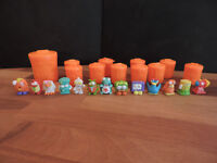 14 x Trash Pack figures with bins - Series 2 & 3