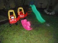 Kids Toys outside joblot £40.00 no offers