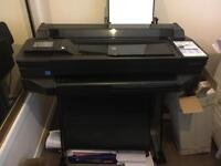 "HP DesignJet T520 Printer - 24"" inch - A1 - 4 Colour - CAD & General Purpose Technical Plotter -"