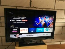 "40"" Samsung LCD HD TV LE40B554M2W with remote & in excellent condition"