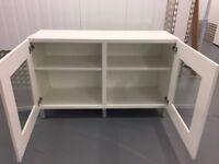 Ikea white TV cabinet/ Office cabinet/ Storage Cabinet