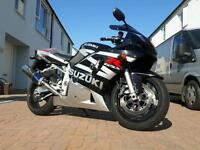 Suzuki gsxr 600 k3 2 owners low milage new mot cbr zx r6