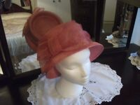 Hat / Rose Pink Hat by Marks & Spencers
