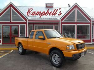 2009 Ford Ranger SPORT!! 4X4!! 5SPD GAS SAVER!! AIR!! ALLOYS!! M