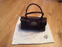 Chocolate East West Bayswater bag in new condition