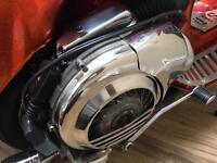 Vespa px 125 custom paint 180 kit
