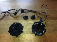 OEM BMW E46 pair M3 mirror actuators/motors & Mirrors.