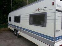 Hobby 5 berth caravan