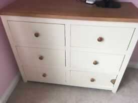 Solid wooden chest of drawers from Rocking Chair Swansea