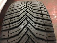 2 x 215/45-17 Michelin tyres