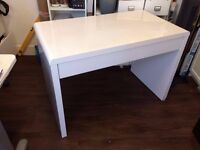 Great condition sleek, solid white desk