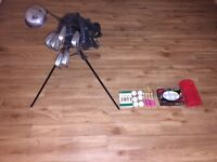 Womens golf bag and Howson set of clubs