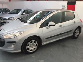 Immaculate 2010 Peugeot 308 1.6 petrol 46000 miles high spec similar size to focus or Astra