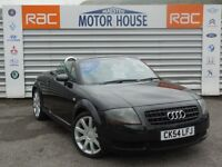 Audi TT (ROADSTER) FREE MOT'S AS LONG AS YOU OWN THE CAR!!! (black) 2004