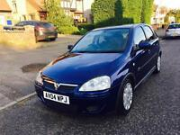VAUXHALL CORSA 2004/04DESIGN FULL AUTOMATIC LOW MILAGE 1.4 ENGINE
