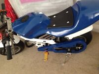Mini moto 49cc swaps £150 50cc 125cc mountain bike pit bike E300 elect