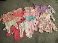 Baby Girl Clothes Bundle - up to 1 month size