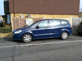 FORD S MAX 2.0 DIESEL 6 SPEED AUTO 58 2008 1 FORMER KEEPER pco uber