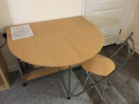Folding Butterfly Dining Set - Table and 4 Chairs