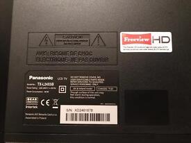 """Panasonic 1080p 24"""" LCD TV"""