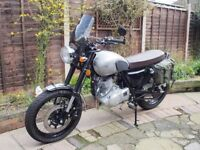 Sinnis Retrostar 250 Low milage, always garaged, never been out in rain.