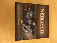 NETRUNNER CARD GAME COMPLETE IN BOX HARDLY USED
