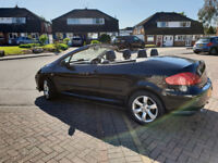 PEUGEOT 307 ALLURE CONVERTIBLE. LOW MILES !! FULL LEATHER, A/C ,CD PLAYER, FULL ELECTRICS,