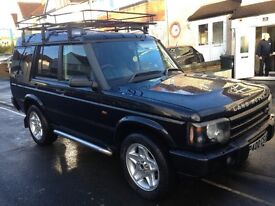 Black Landrover Discovery TD5 S Auto