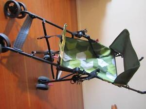 Single upright buggy camo Dolphin Heads Mackay City Preview