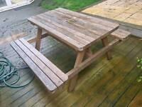4 Person Garden bench