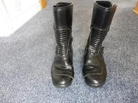 TECH7 Biker boots size 6