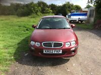 Rover 25 red manual 2002